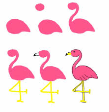 pink martini clip art palm tree and flamingo cookies the decorated cookie