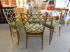 Bamboo Patio Set by Vintage Metal Faux Bamboo Chair 175 Bamboo Pinterest Faux