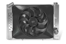 flex a lite electric fan kit flex a lite automotive direct fit flex a fit aluminum radiator and