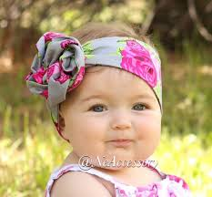 baby girl headwraps baby girl headwrap floral headwrap retro baby by neaccessory
