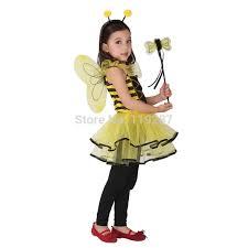 Honey Bee Halloween Costume Aliexpress Buy Cute Ladybug Fairy Halloween Costumes
