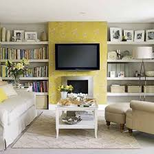 Grey And Yellow Living Room Design by The 25 Best Fireplace Feature Wall Ideas On Pinterest Tv