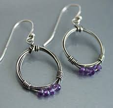 vire earrings 44 gorgeous handmade wire wrapped jewelry idea diy to make