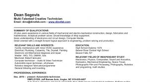 Hvac Resume Examples by Entry Level Hvac Resume Examples