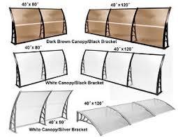 Polycarbonate Window Awnings 80