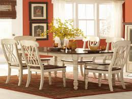 country dining room ideas cottage cove ivory finish casual dining room set hillside cottage