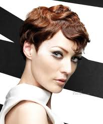 short hairstyles with fringe sideburns wavy short hairstyle with a masculine length and side burns