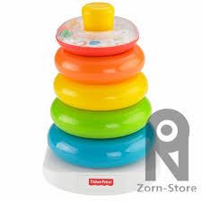 baby plastic rings images Zorn toys store fisher price rock a stack rainbow rings early jpg