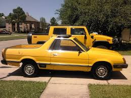 subaru yellow another 1982 subaru brat for sale