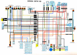 honda cbx1000 colour electrical wiring loom diagrams 76 cb750