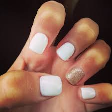 white acrylic nails for the holidays nails pinterest acrylic
