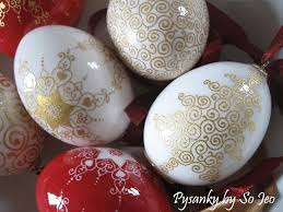 blown egg ornaments etched 23k gilded christmas eggs by so jeo leblond from