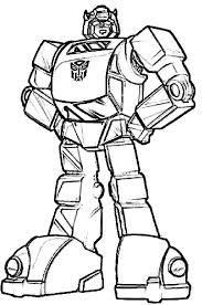 Autobots Bumblebee Car Transformer Coloring Pages Best Place To Transformer Color Page