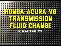 changing transmission fluid honda accord 99 04 honda acura accord v6 transmission fluid change p0740