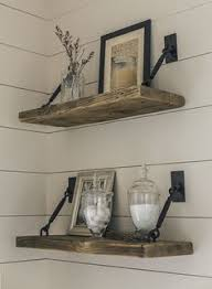 Kitchen Wall Shelf Rustic Wood Shelving And Furniture How To Create Rustic