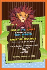 lion king baby shower invitations lion king baby shower invitation by lukidesigner on deviantart