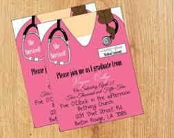 nursing school graduation invitations create graduation announcements paso evolist co