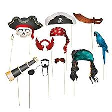 picture props express pirate photo booth props 12 pieces toys