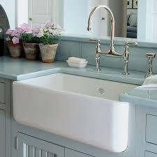 Country Kitchen Sinks Kitchen White Apron Sink Bowl Farmhouse Sink Copper Farm