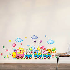 Aliexpresscom  Buy Train Wall Sticker For Kids Room Home Decor - Stickers for kids room
