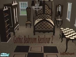 Gothic Dining Room Furniture Sims 2 Room Sets U0027gothic U0027