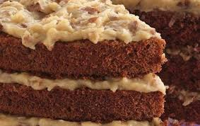 german chocolate cake frosting recipe details calories