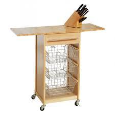 outstanding origami folding kitchen island cart also butcher block