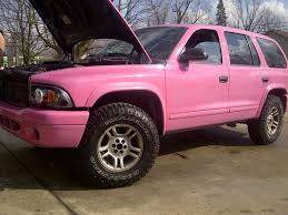 Dodge Durango 98 Parts - clean 2003 pink dodge durango my project truck auto pinterest