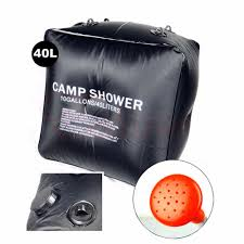 Portable Outdoor Shower Kit - 2016 new outdoor shower water bag portable 40l 10 gallon shower