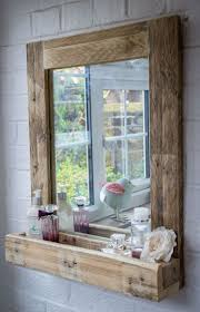 best 25 reclaimed wood mirror ideas on pinterest pallet mirror