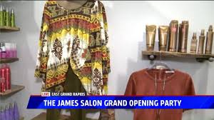 the james salon grand opening to benefit kids u0027 food basket fox17