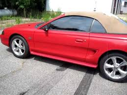 1995 mustang convertible top 1995 ford mustang 5 0 gt convertible for sale ebay