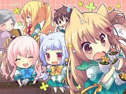 anime chibi wallpaper