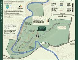 Tennessee Highway Map by Park Trail Maps U2014 Tennessee State Parks