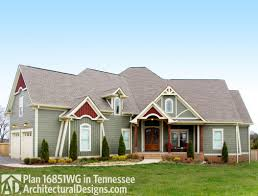 Architecturaldesigns Com by House Plan 16851wg Client Built In Tennessee