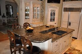 granite topped kitchen island kitchen design sensational wood kitchen island granite kitchen