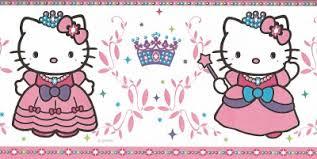 wallpaper hello kitty violet wallpaper border hello kitty princess pink purple green and blue ebay