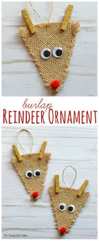25 unique reindeer ornaments ideas on