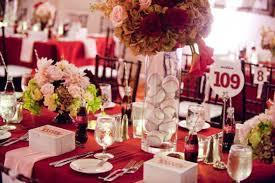baseball wedding table decorations centerpiece ideas and favors new york yankees baseball theme