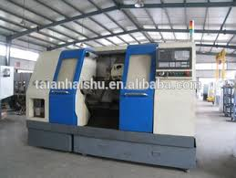 ck350b 1 cnc lathe machine price in india with slant bed type