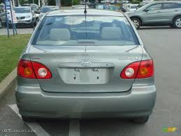 2003 mineral green metallic toyota corolla le 65448599 photo 4