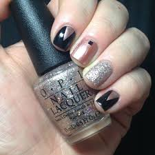 nail art with gold glitter choice image nail art designs