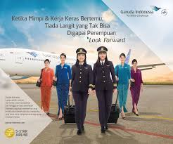 Garuda Indonesia With Dreams And Work Can Garuda Indonesia