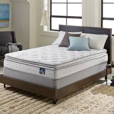 serta extravagant pillow top queen mattress set free shipping