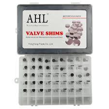 aliexpress com buy motorcycle adjustable 9 48mm valve shim kit