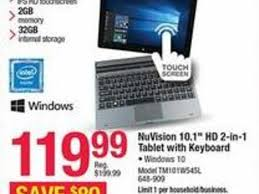 office depot officemax black friday ad features 119 windows 2 in