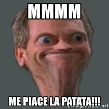 Mmmm Meme - mmmm me piace la patata housella ei suju meme generator