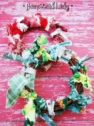 rag quilt wreath k norris