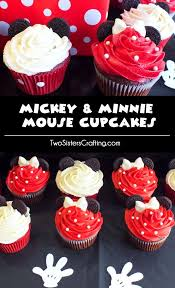 Red Minnie Mouse Cake Decorations Best 25 Mickey Cupcakes Ideas On Pinterest Mickey Mouse