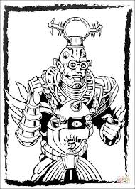 power ranger u0027s villain coloring free printable coloring pages